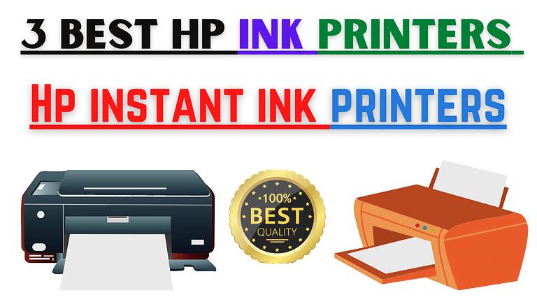 Hp instant ink printers